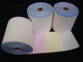 Triplicate Bond Paper Rolls<br>76mm x 76mm (Box 50)<br>[White/Yellow/Pink]