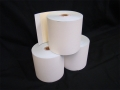 Two / Twin PLY Bond Paper Rolls<br>76mm x 76mm (Box 50)<br>[White/Yellow]